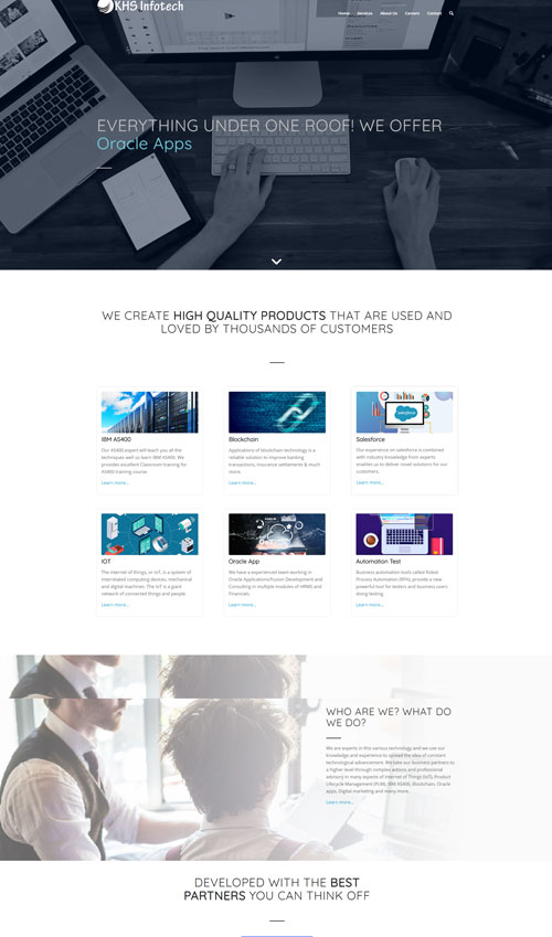 IT Company Website Development By TECHUI