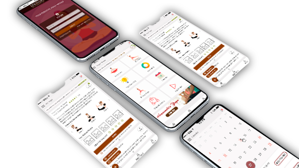 Yoga & Fitness Mobile App Development By TECHUI